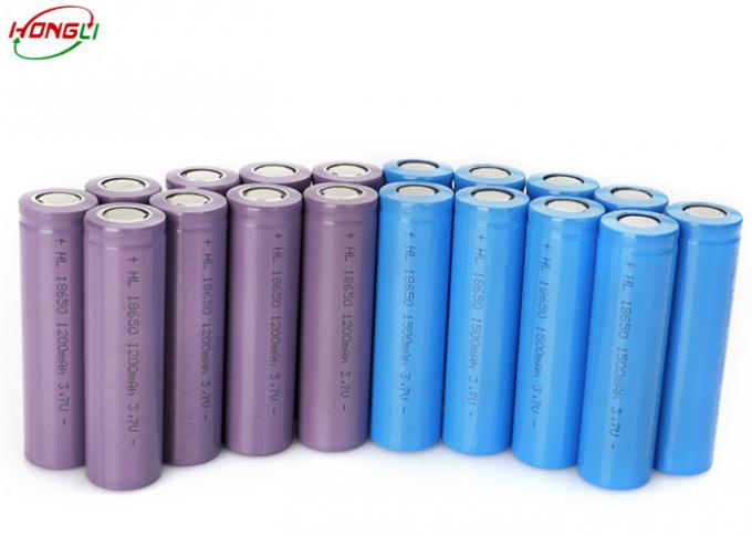 UL BIS Certified Lithium Ion Battery 3.7 V 1200mah 18mm*65mm For Battery Pack