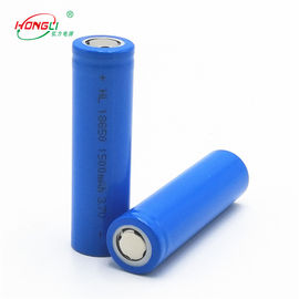 Good Quality 3.7 V Lithium Ion Cell & 1500mAh 18650 3.7V Lithium Ion Cell With 300 Cycles Long Life on sale