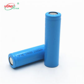 Good Quality 3.7 V Lithium Ion Cell & Grade A Power Bank Battery / 18650 2000mAh Rechargeable Li - Ion Cell 3.7V on sale