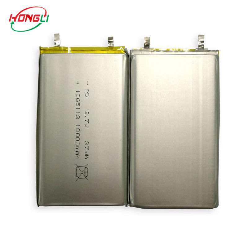 10000mAh Power Bank Battery , Rechargeable Battery Pack 10*65*113mm