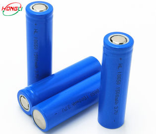 3.7V 1500mAh 18650 Lithium Ion Cells Excellent Safety Green Energy
