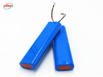 Customized 18650 Battery Pack 1200-6000mAh Battery Capacity 80g