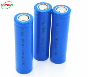 Large Current Discharge 1500mah Lithium Ion Battery Rechargeable 18650  Cylindrical