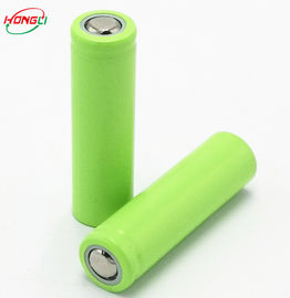 500mah 3.7 V 14500 Rechargeable Battery / Lithium Ion Battery For Small Torch