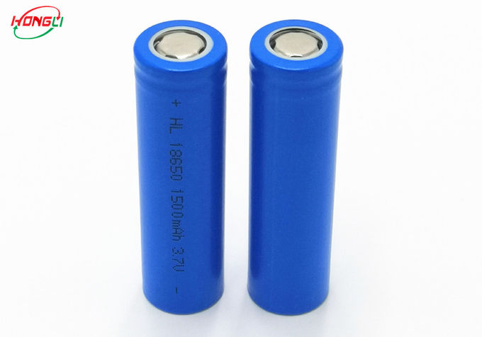Safety 1500mah Lithium Ion Battery Long Running Time For Rechargeable Emergency Light